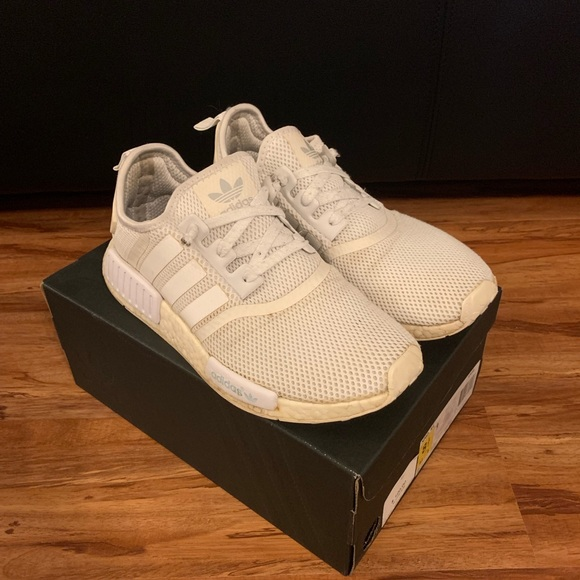 0c0acbc9d adidas Other - Triple white NMD R1 original box size 8.5. Used